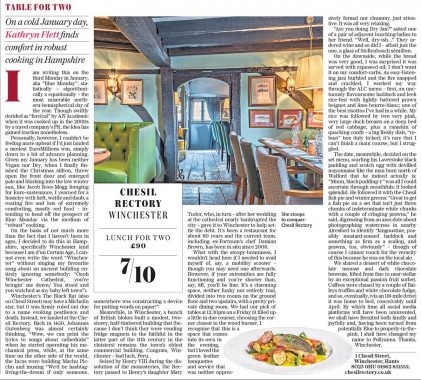 Suday Telegraph Review