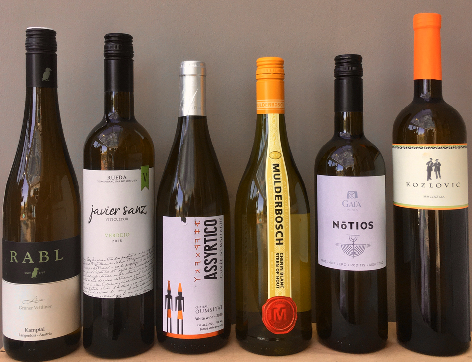 Chesil Discovery White Wines